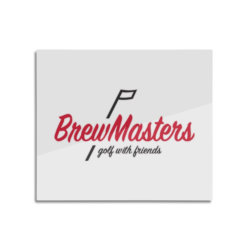 Brewmasters_Golf_3 Home Mounted Aluminum Print by Brian Harms