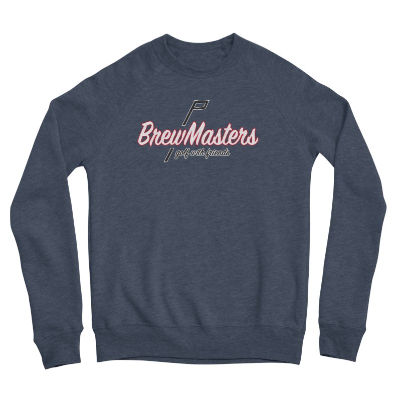 Brewmasters_Golf_REV_2 Men's Sponge Fleece Sweatshirt by Brian Harms