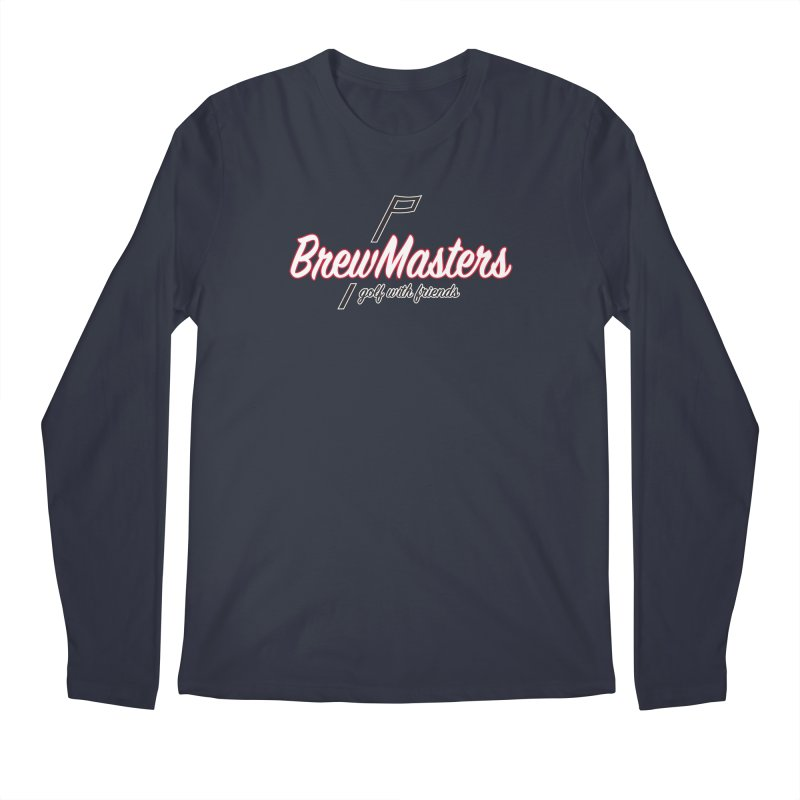 Brewmasters_Golf_REV_2 Men's Regular Longsleeve T-Shirt by Brian Harms