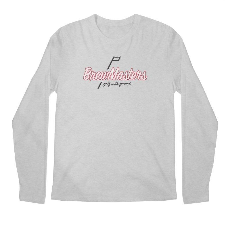 Brewmasters_Golf_REV_2 Men's Regular Longsleeve T-Shirt by Brian Harms