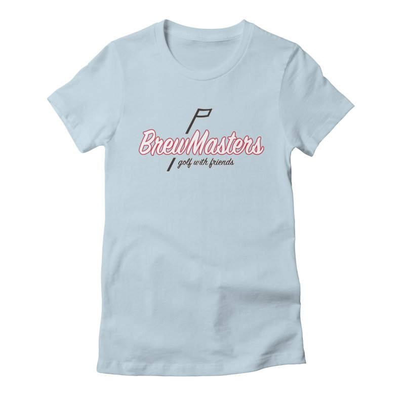 Brewmasters_Golf_REV_2 Women's Fitted T-Shirt by Brian Harms