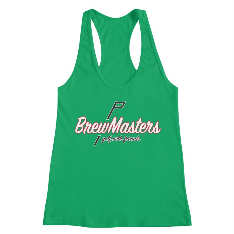 Brewmasters_Golf_REV_2 Women's Tank by Brian Harms