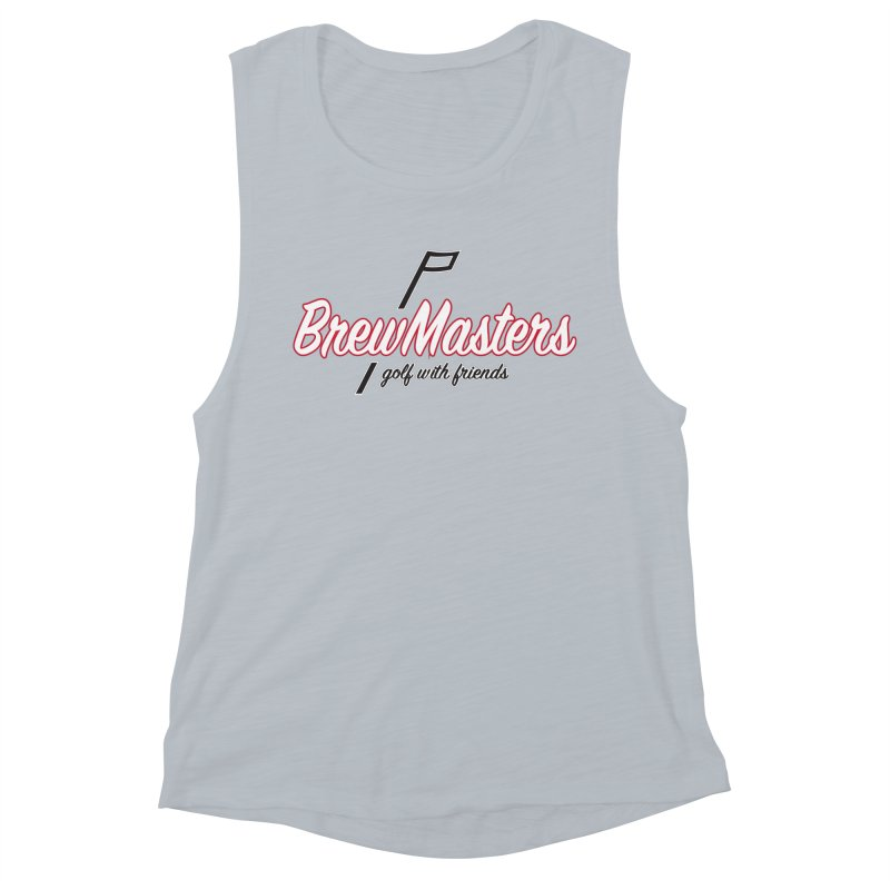 Brewmasters_Golf_REV_2 Women's Muscle Tank by Brian Harms