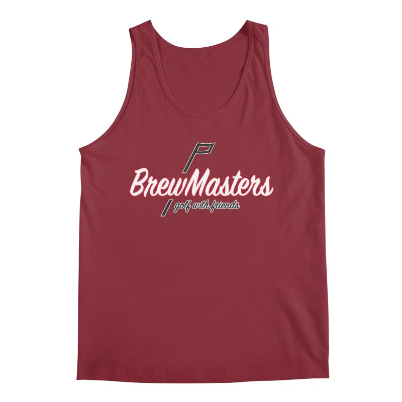 Brewmasters_Golf_REV_2 Men's Tank by Brian Harms
