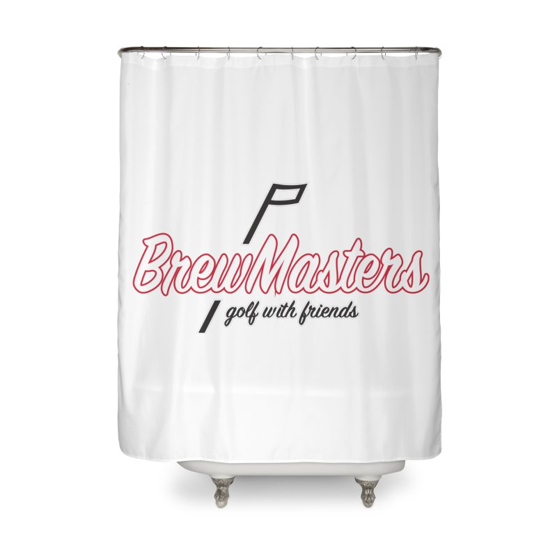 Brewmasters_Golf_REV_2 Home Shower Curtain by Brian Harms