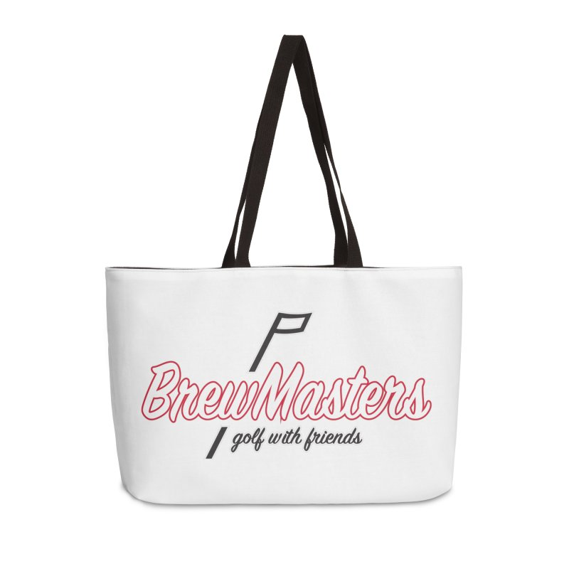 Brewmasters_Golf_REV_2 Accessories Weekender Bag Bag by Brian Harms