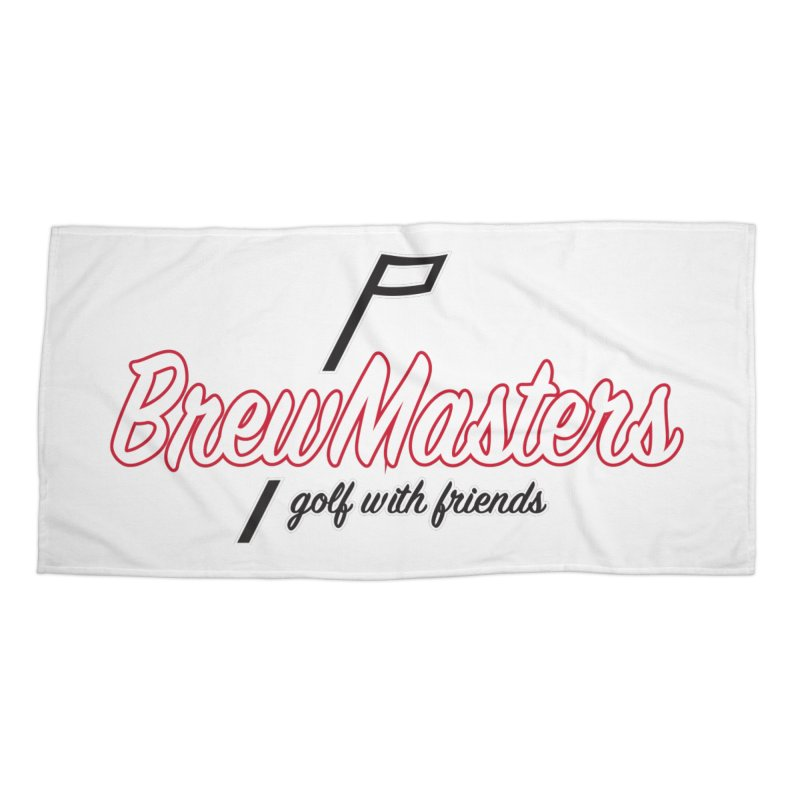 Brewmasters_Golf_REV_2 Accessories Beach Towel by Brian Harms
