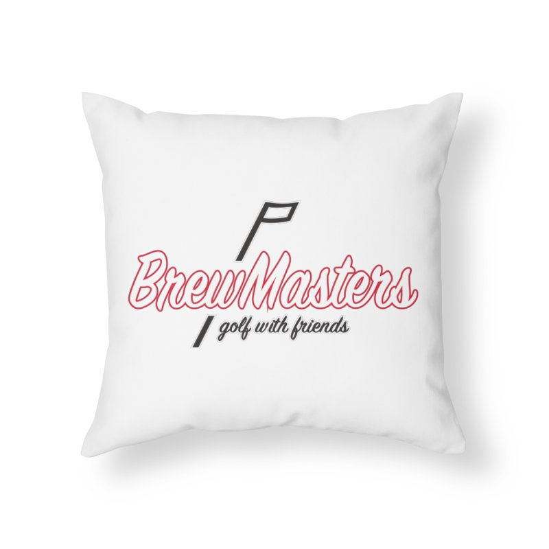 Brewmasters_Golf_REV_2 Home Throw Pillow by Brian Harms