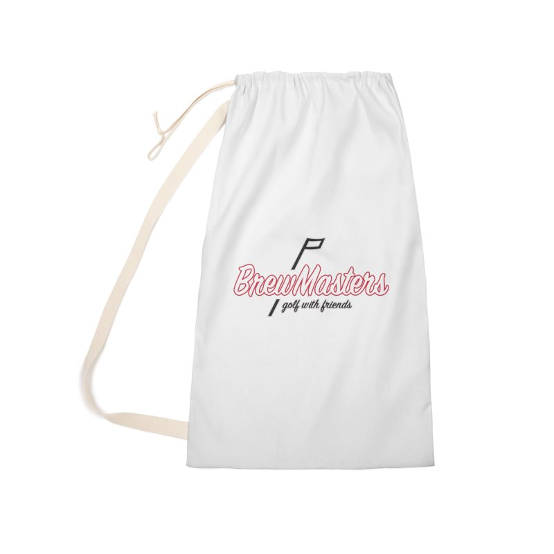 Brewmasters_Golf_REV_2 Accessories Laundry Bag Bag by Brian Harms