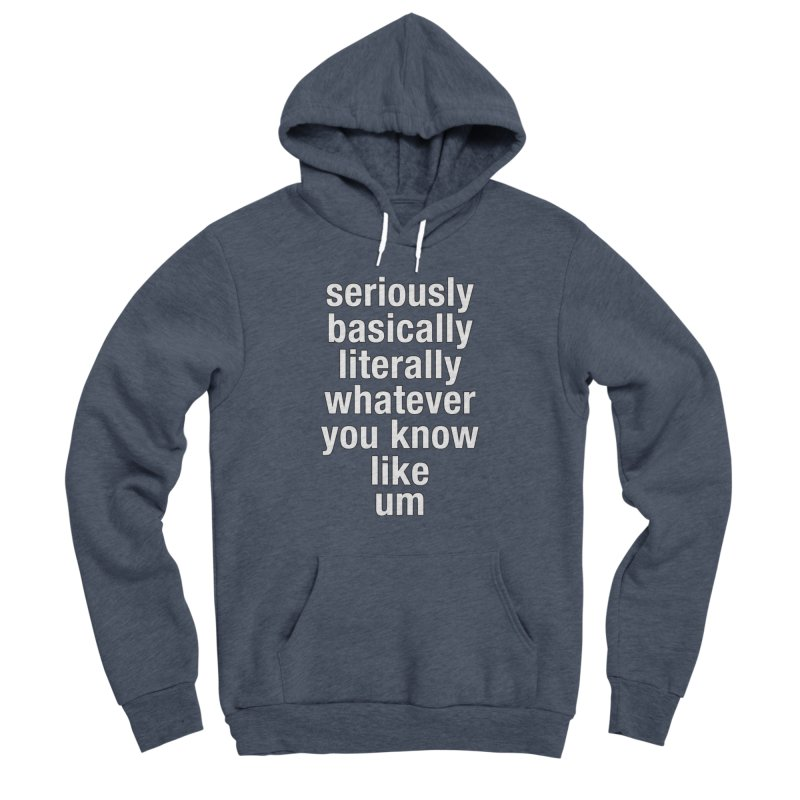 Overused_Words_2 Women's Sponge Fleece Pullover Hoody by Brian Harms