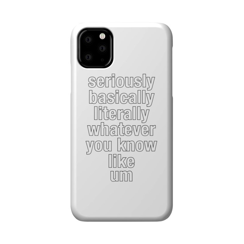 Overused_Words_2 Accessories Phone Case by Brian Harms