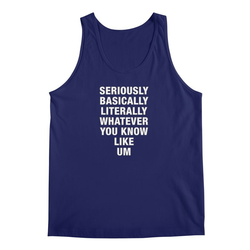 Overused_Words_1 Men's Regular Tank by Brian Harms