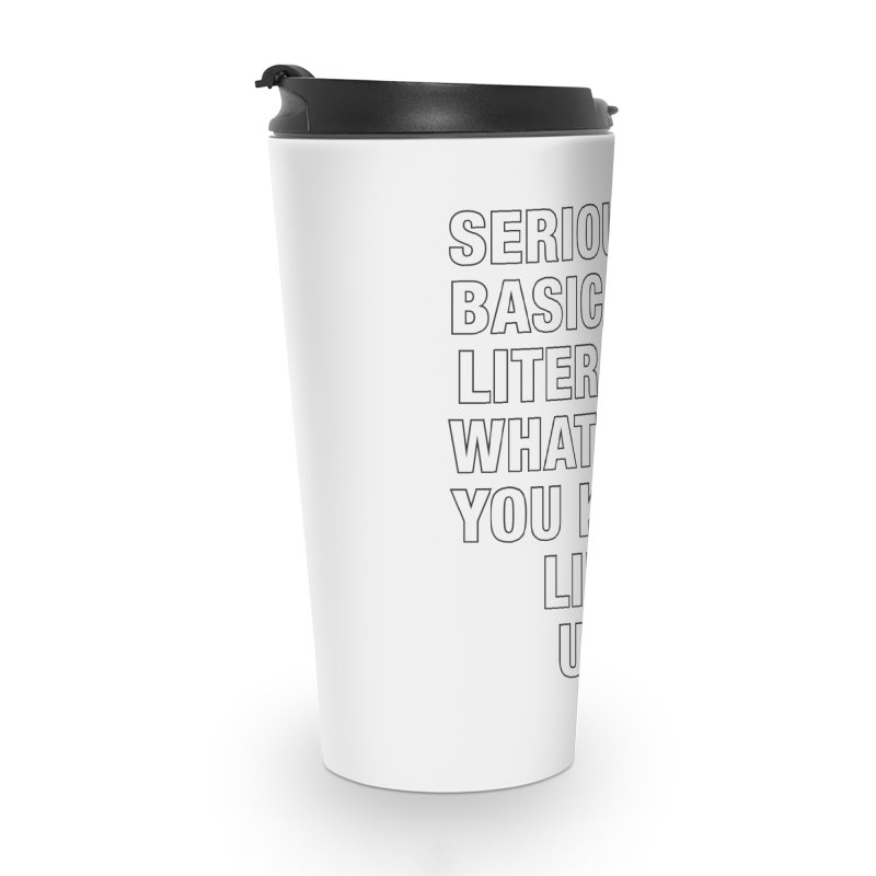 Overused_Words_1 Accessories Travel Mug by Brian Harms