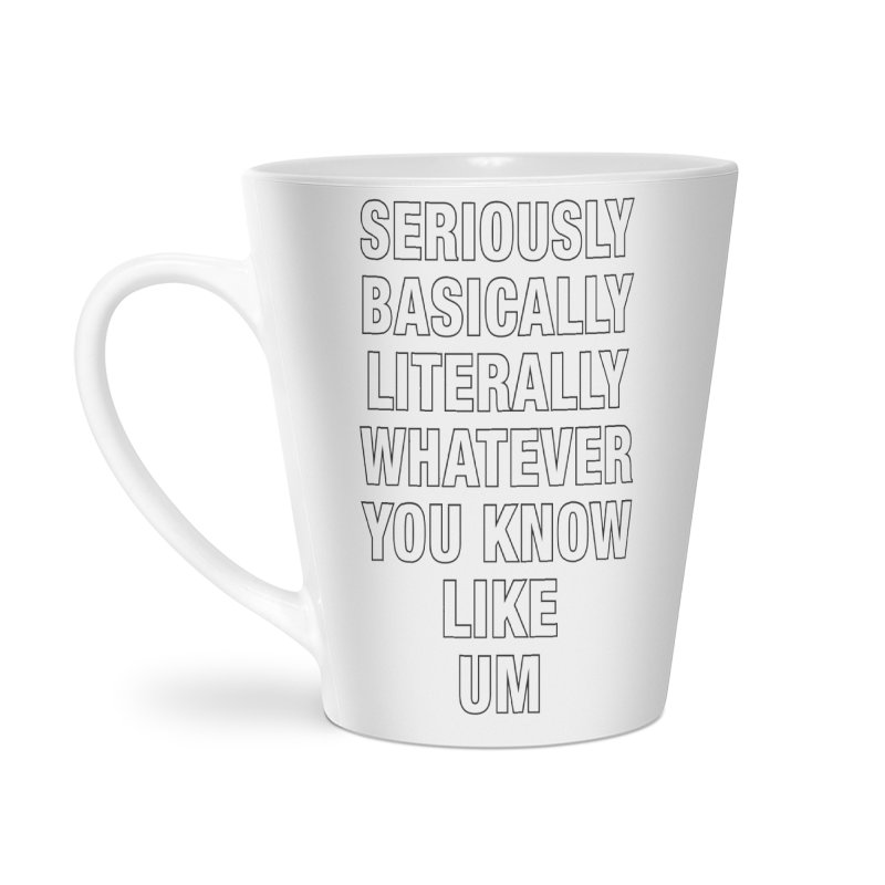Overused_Words_1 Accessories Latte Mug by Brian Harms
