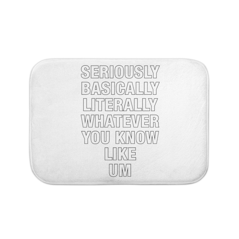 Overused_Words_1 Home Bath Mat by Brian Harms