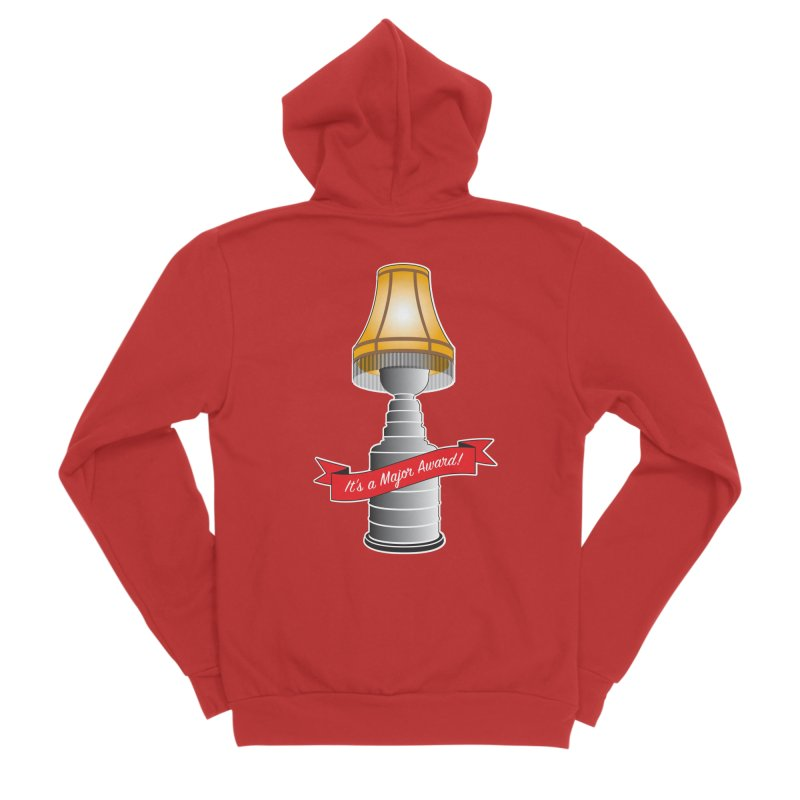 Lamp Award Women's Zip-Up Hoody by Brian Harms