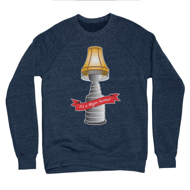 Lamp Award Men's Sponge Fleece Sweatshirt by Brian Harms