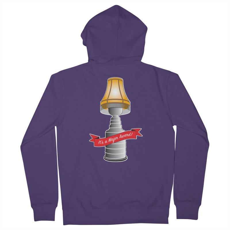 Lamp Award Women's French Terry Zip-Up Hoody by Brian Harms