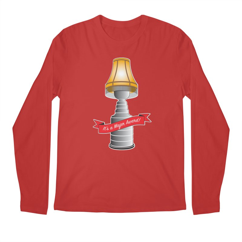 Lamp Award Men's Regular Longsleeve T-Shirt by Brian Harms