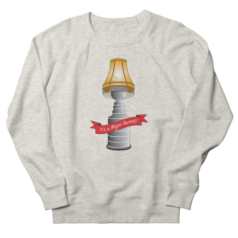 Lamp Award Women's French Terry Sweatshirt by Brian Harms