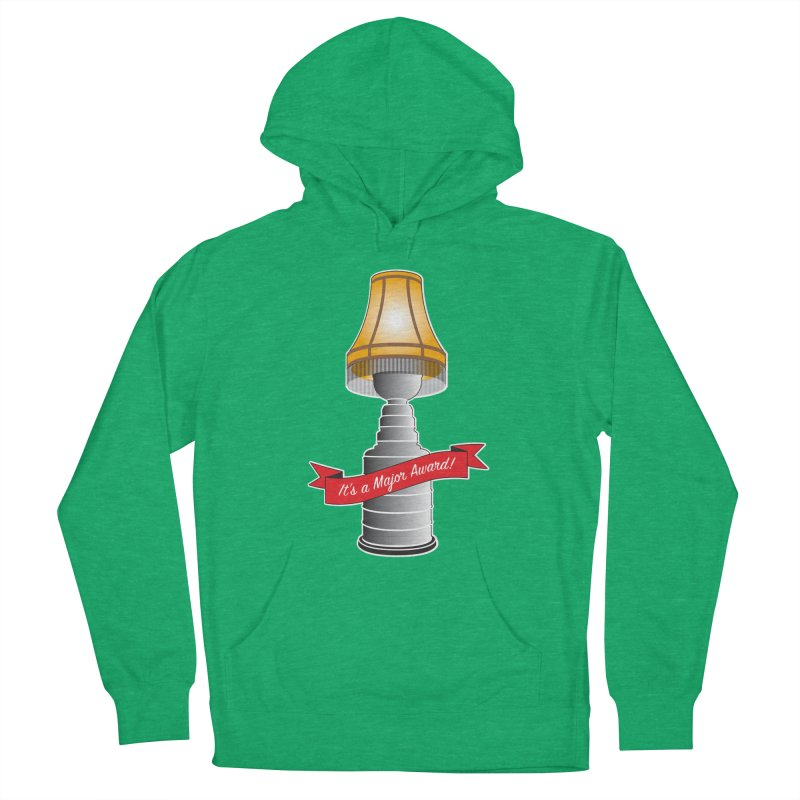 Lamp Award Women's French Terry Pullover Hoody by Brian Harms