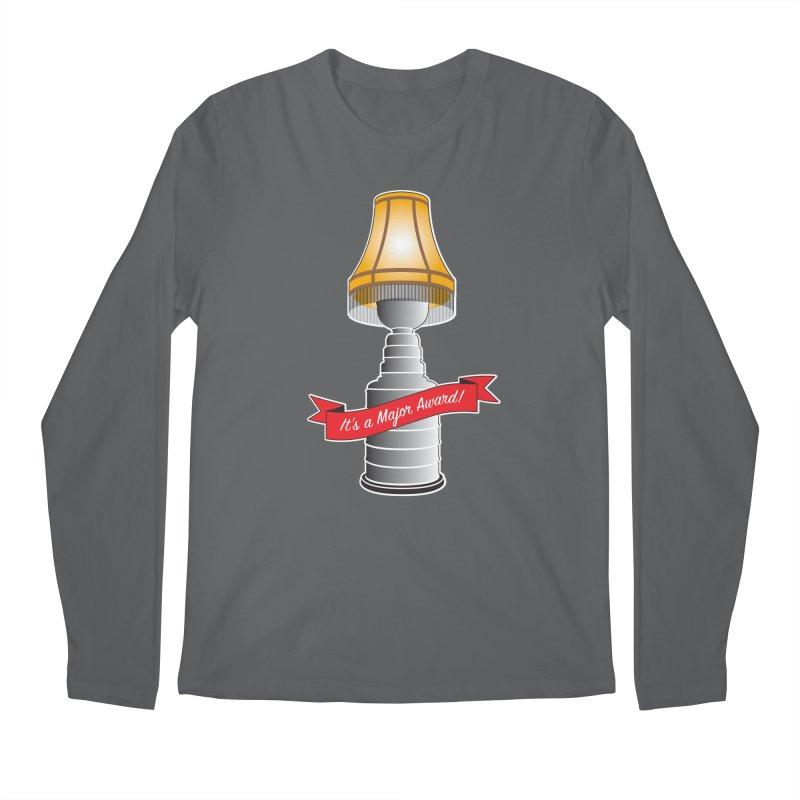 Lamp Award Men's Regular Longsleeve T-Shirt by Brian Harms