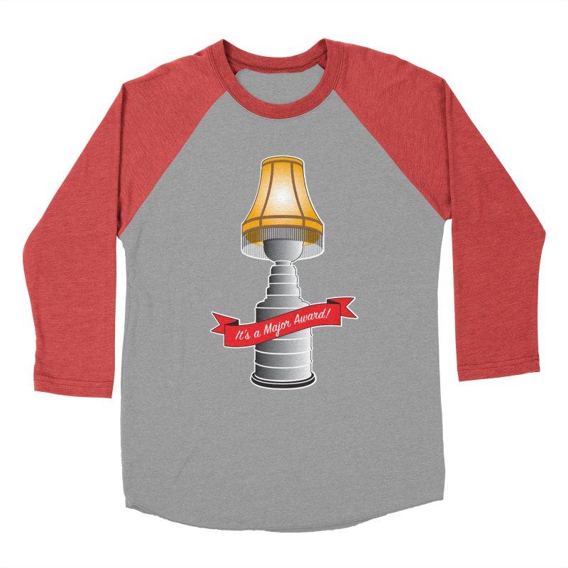 Lamp Award Men's Baseball Triblend Longsleeve T-Shirt by Brian Harms