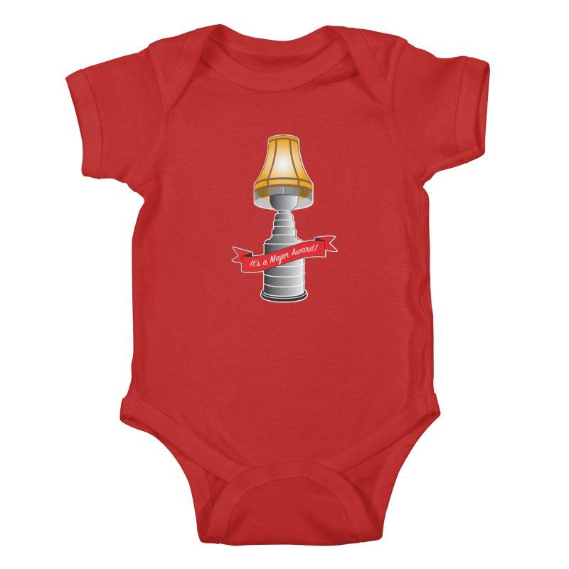 Lamp Award Kids Baby Bodysuit by Brian Harms