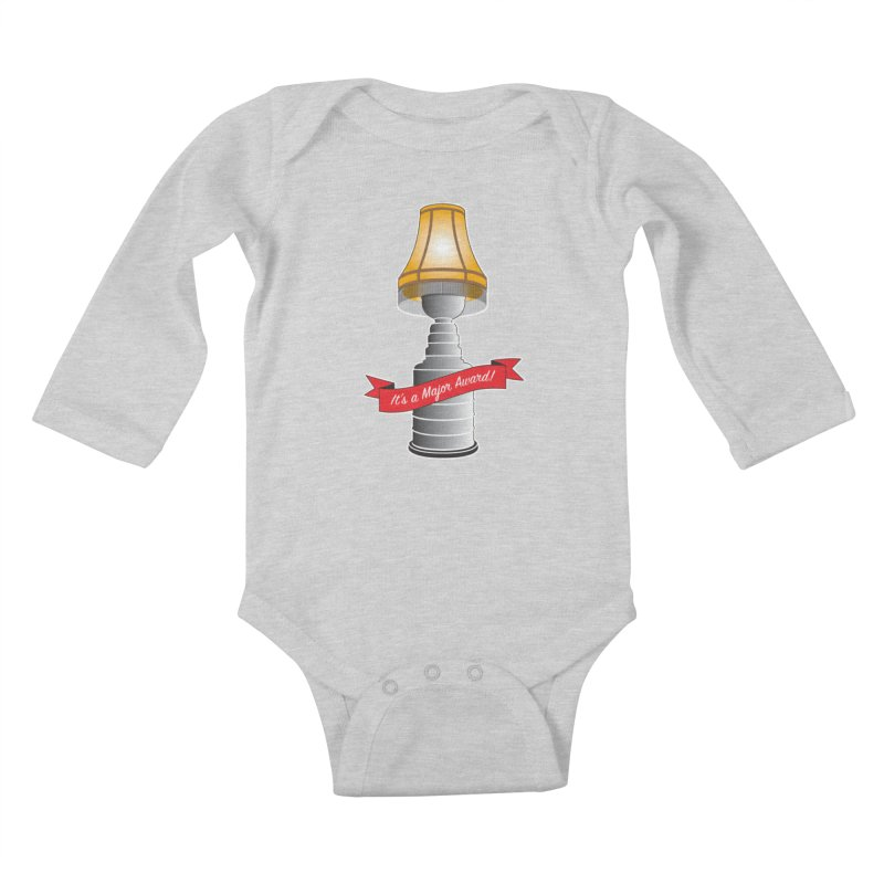 Lamp Award Kids Baby Longsleeve Bodysuit by Brian Harms