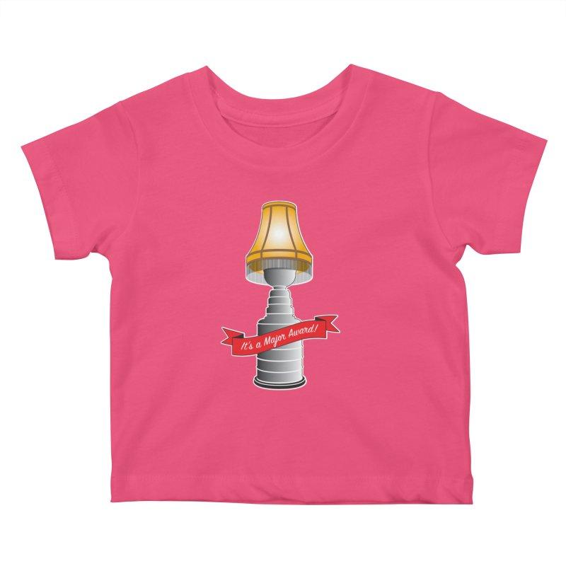 Lamp Award Kids Baby T-Shirt by Brian Harms