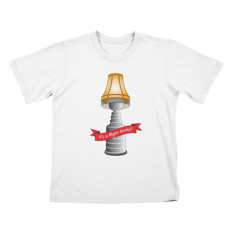 Lamp Award Kids T-Shirt by Brian Harms
