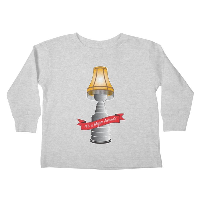 Lamp Award Kids Toddler Longsleeve T-Shirt by Brian Harms