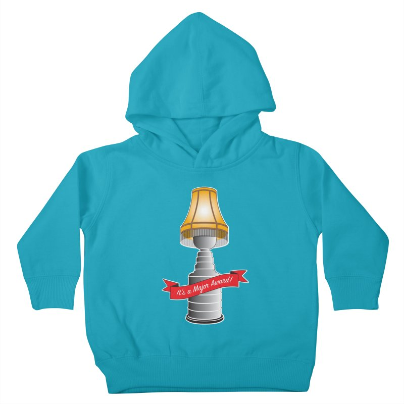 Lamp Award Kids Toddler Pullover Hoody by Brian Harms