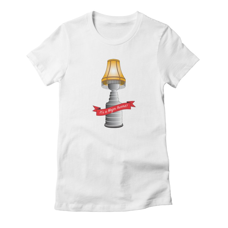 Lamp Award Women's Fitted T-Shirt by Brian Harms