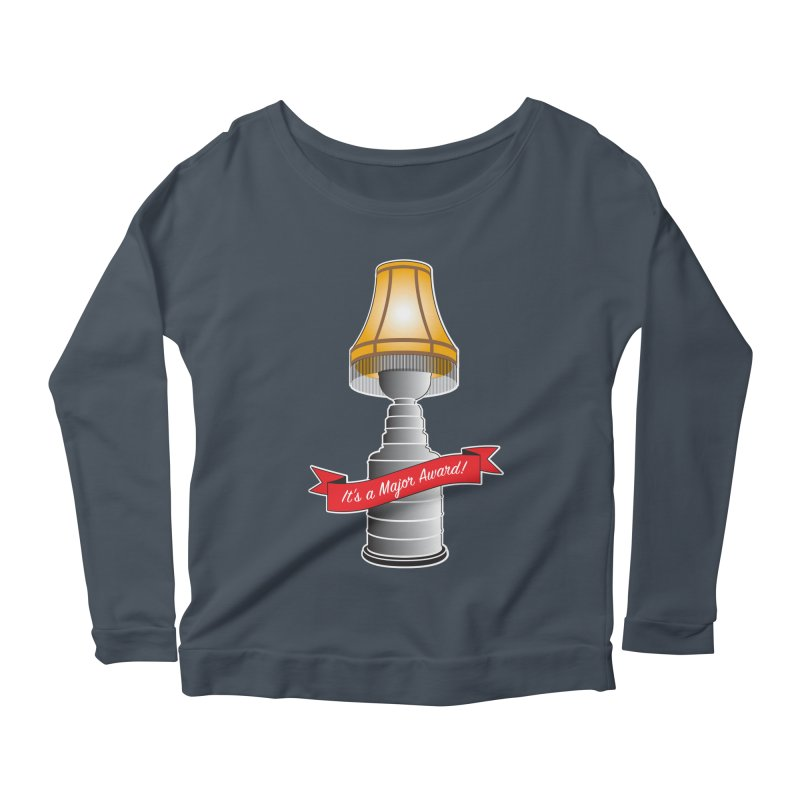 Lamp Award Women's Scoop Neck Longsleeve T-Shirt by Brian Harms