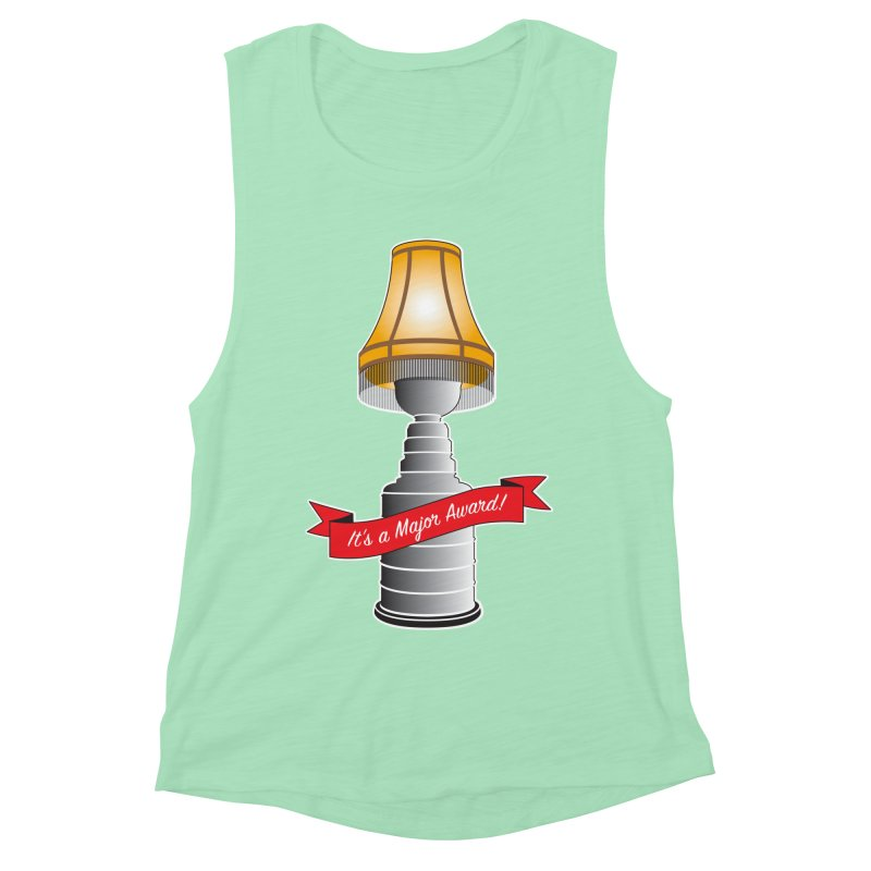 Lamp Award Women's Muscle Tank by Brian Harms
