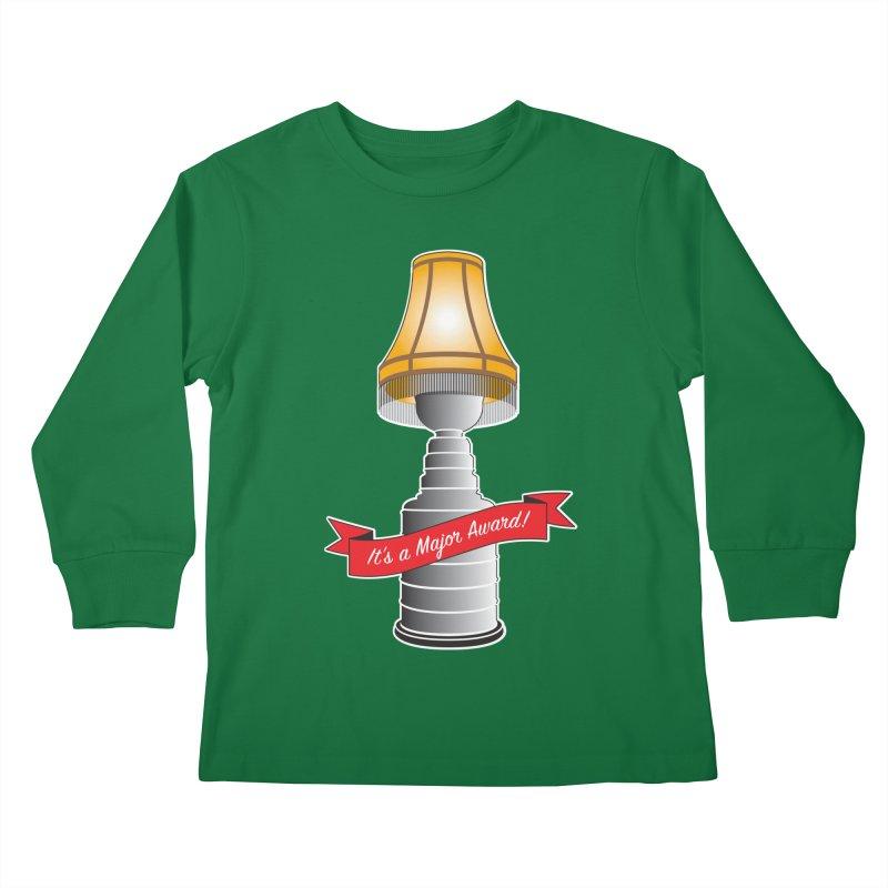 Lamp Award Kids Longsleeve T-Shirt by Brian Harms