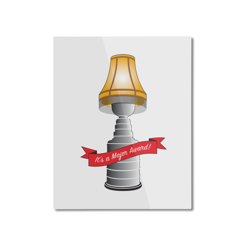Lamp Award Home Mounted Aluminum Print by Brian Harms