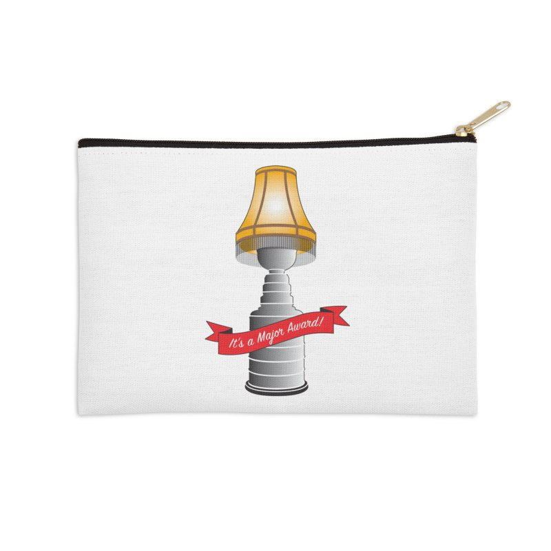 Lamp Award Accessories Zip Pouch by Brian Harms