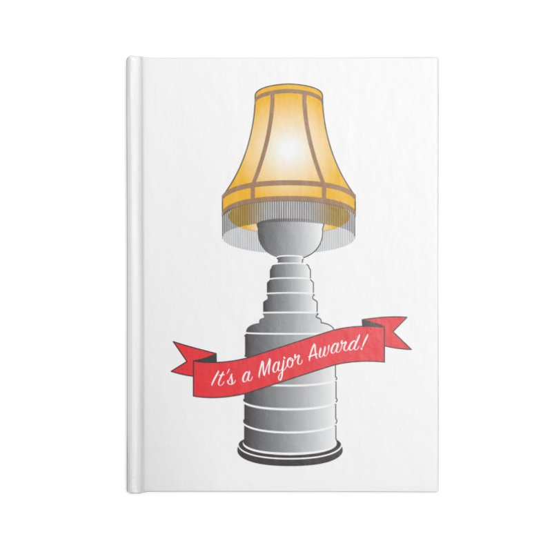 Lamp Award Accessories Lined Journal Notebook by Brian Harms