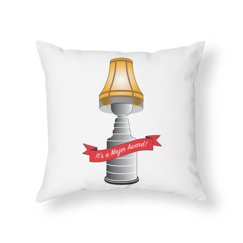 Lamp Award Home Throw Pillow by Brian Harms
