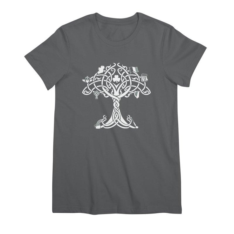 Irish Tree of Life Women's Premium T-Shirt by Brian Harms