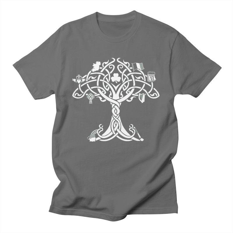 Irish Tree of Life Men's T-Shirt by Brian Harms