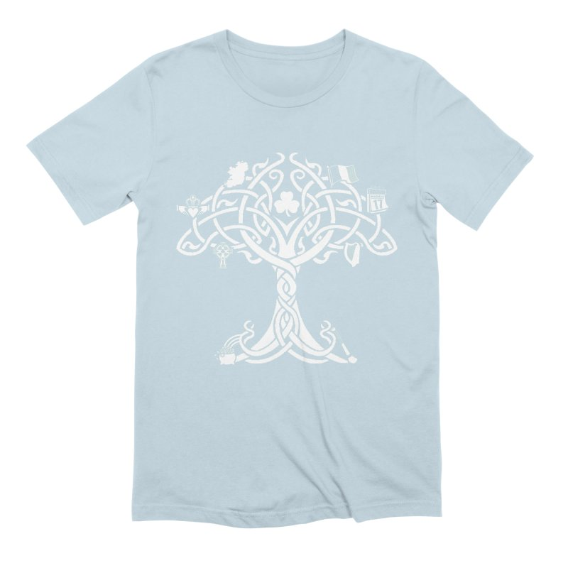 Irish Tree of Life Men's Extra Soft T-Shirt by Brian Harms