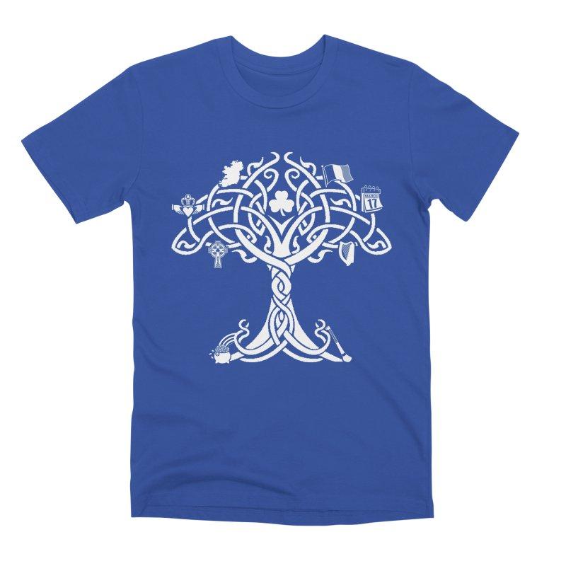 Irish Tree of Life Men's Premium T-Shirt by Brian Harms