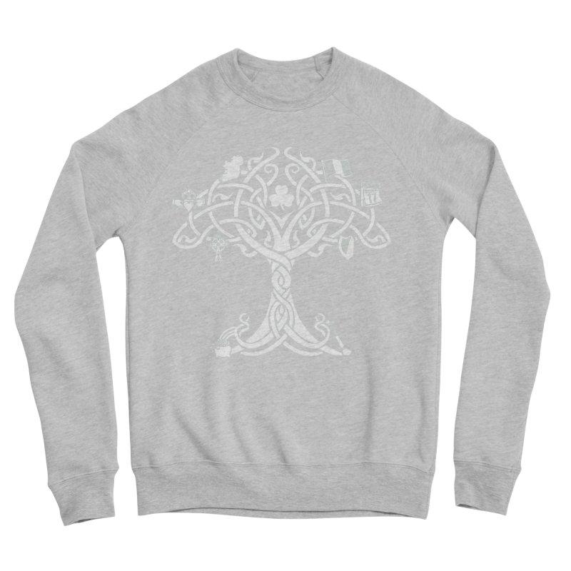 Irish Tree of Life Women's Sponge Fleece Sweatshirt by Brian Harms