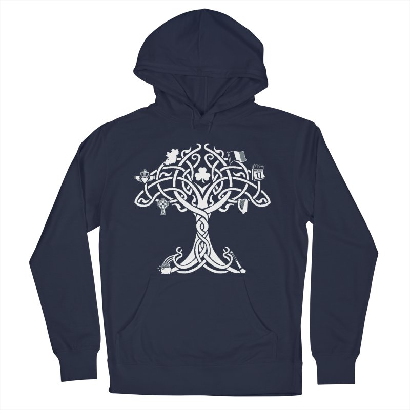 Irish Tree of Life Men's Pullover Hoody by Brian Harms