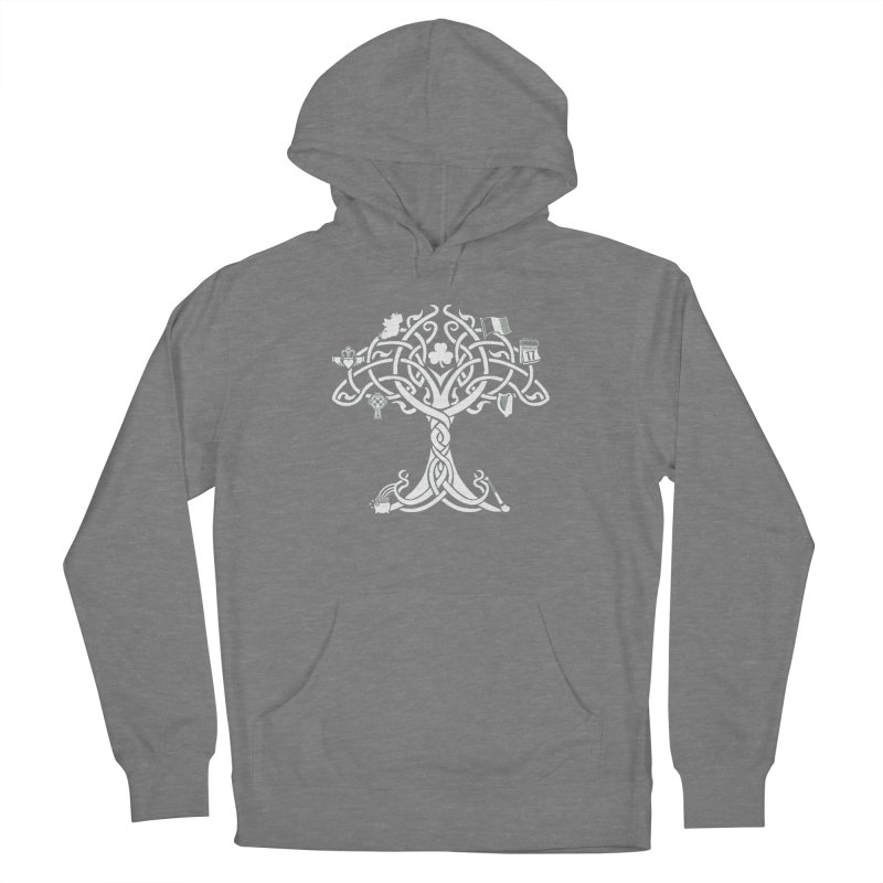 Irish Tree of Life Men's French Terry Pullover Hoody by Brian Harms