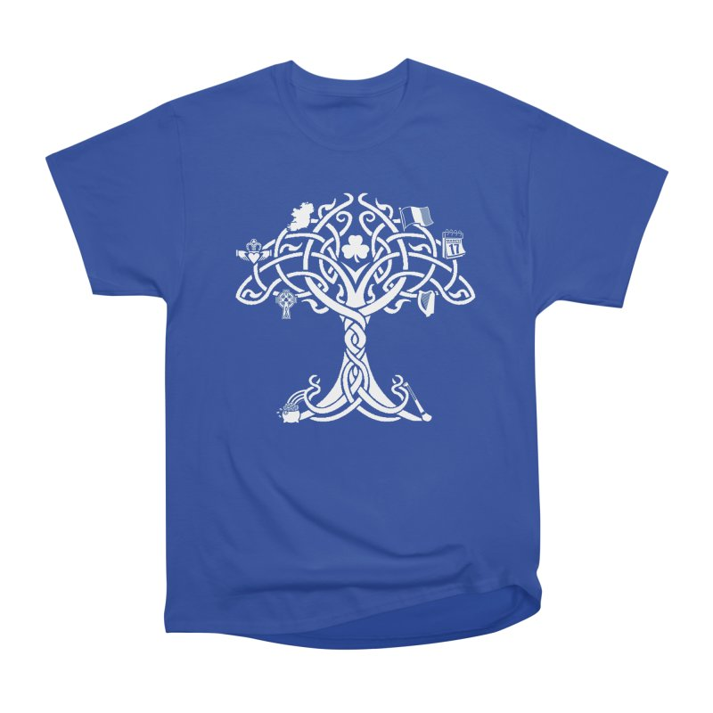 Irish Tree of Life Women's Heavyweight Unisex T-Shirt by Brian Harms
