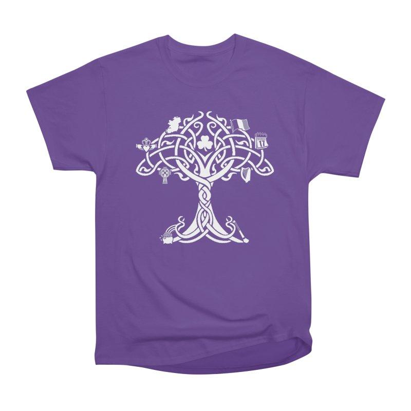 Irish Tree of Life Men's Heavyweight T-Shirt by Brian Harms